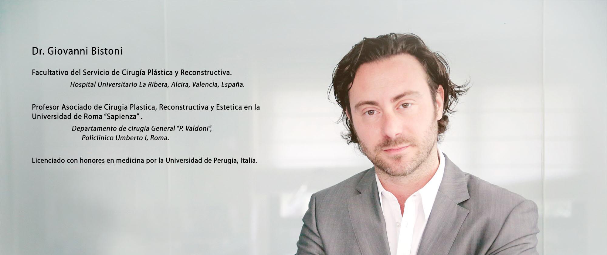 Dr. Giovanni Bistoni Cirujano plástico Valencia