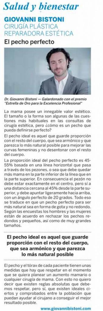 Diario Las Provincias 20 de Mayo de 2017 - Dr Giovanni Bistoni | Cirugía plástica, estética y reconstructiva
