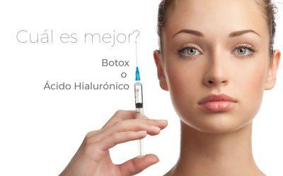 Botox o Ácido Hialurónico ¿Cuál es mejor?
