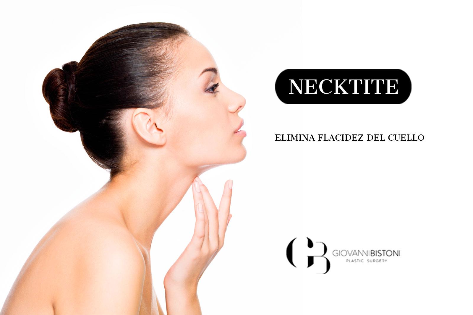 Necktite elimina flacidez del cuello