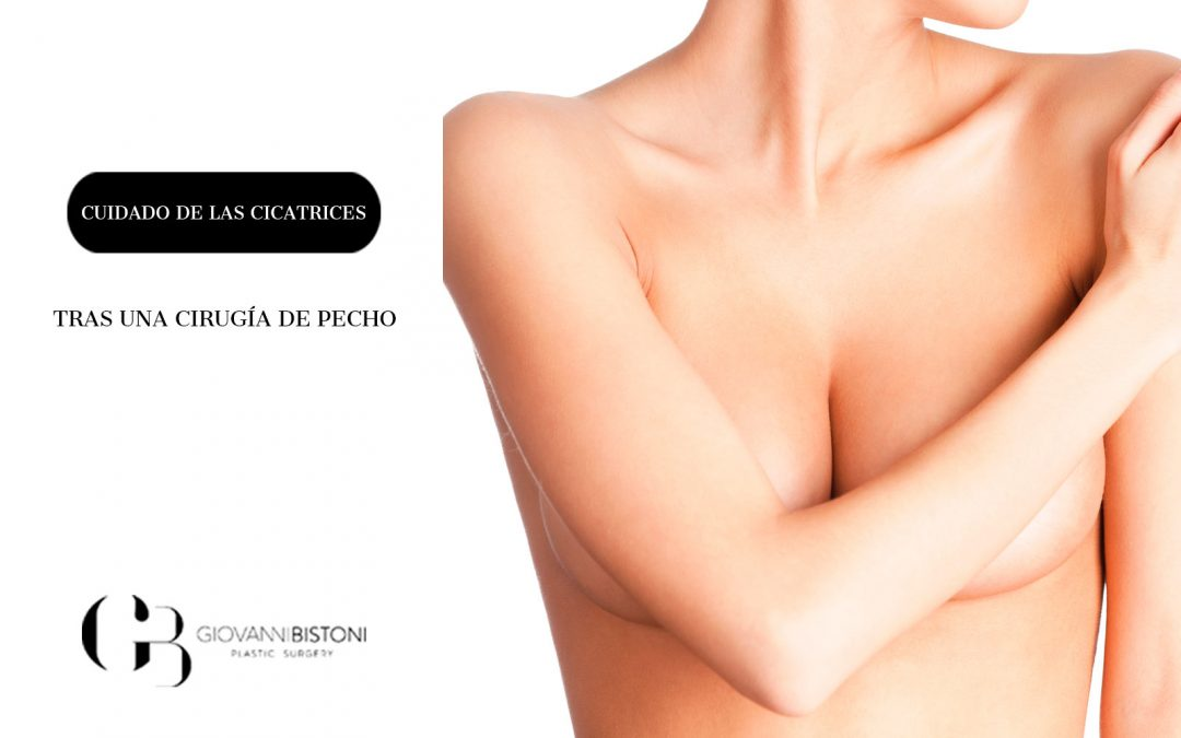 Cuidado de las cicatrices tras una cirugía de pecho